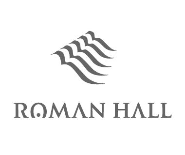 ROMAN HALL-滋賀県草津の音楽ホールのロゴデザイン2