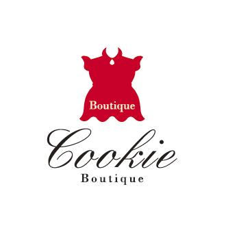 ブティッククッキー-BOUTIQUE COOKIE-兵庫県神戸市ブティック、アパレル、アクセサリー販売するお店のロゴマーク作成