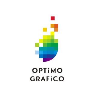 オプティモグラフィコ株式会社-OPTIMO GRAPHICO-東京都杉並区にあるゲーム(Wii、PS2、PS3、Xbox360、DS、PSP)の3DCG作成を行っている会社のロゴマーク作成