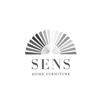 SENS-東京都荒川区にあるモダンインテリアファブリック、オリエンタルインテリア、アジアン雑貨、クッション、テーブルランナーの通信販売を行っている会社のロゴマーク作成