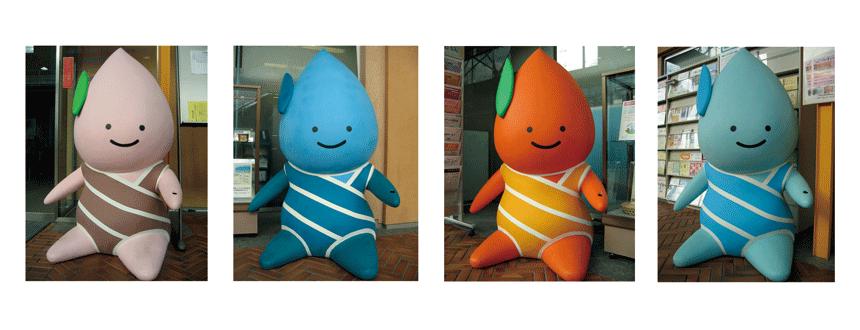 保津川庭園水都-亀岡地域ブランド化プロジェクトのロゴおよびマスコットキャラクター作成