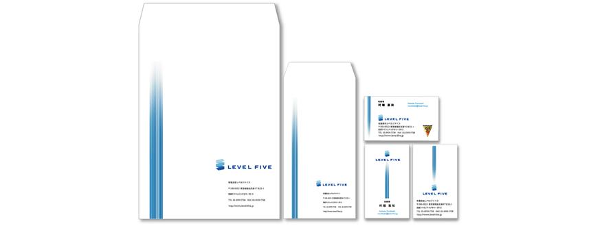 LEVEL FIVE-東京都のインフラネットワーク構築・アウトソーシンの会社のロゴマーク作成グ